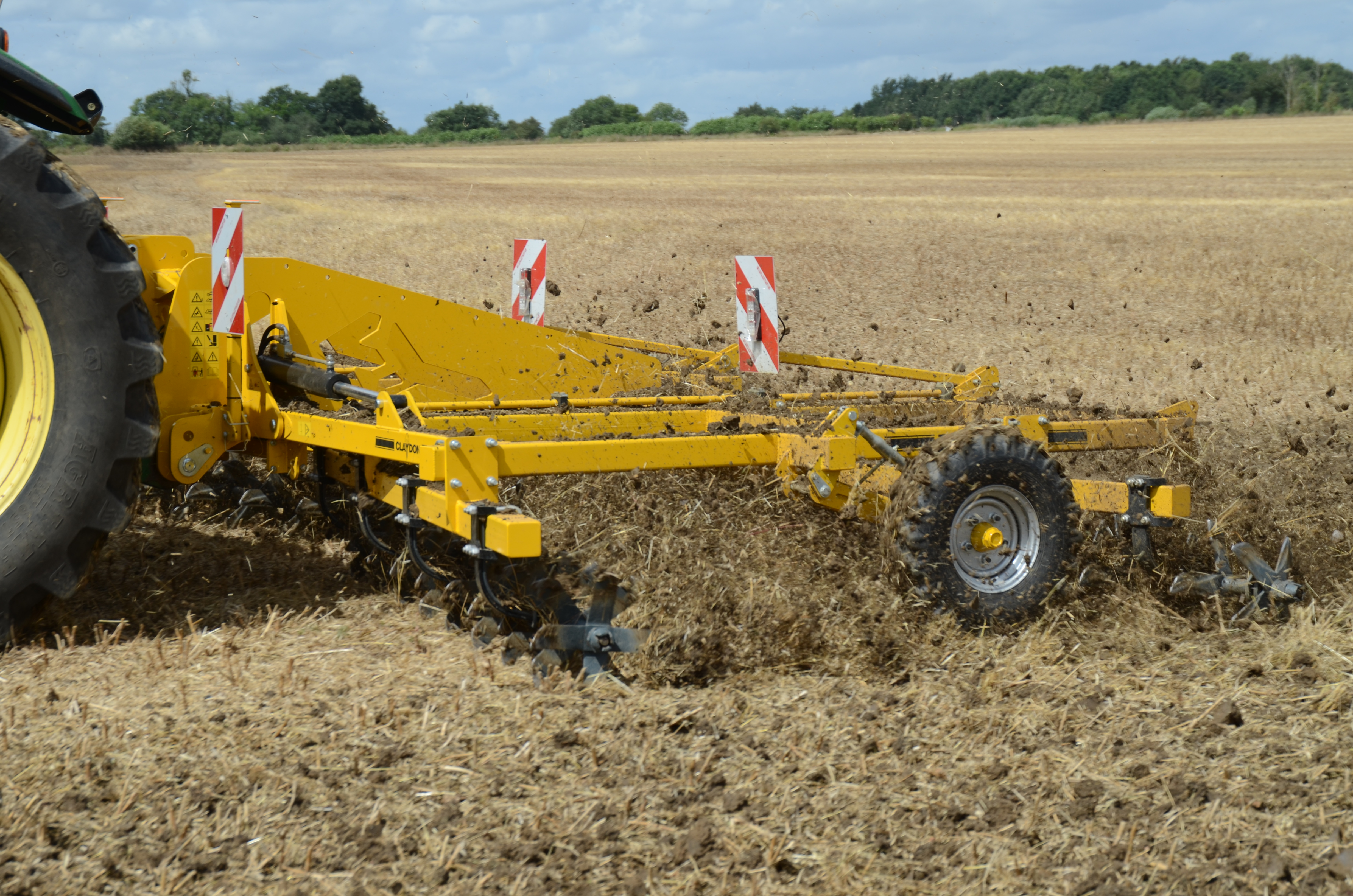 Claydon to launch two new products at Agromek